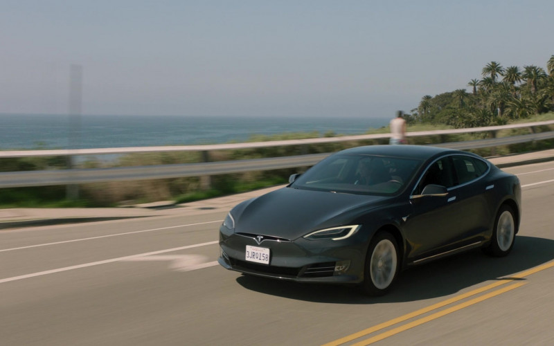 Tesla Model S Car Seen in Big Shot S01E04 TV Show 2021 (1)