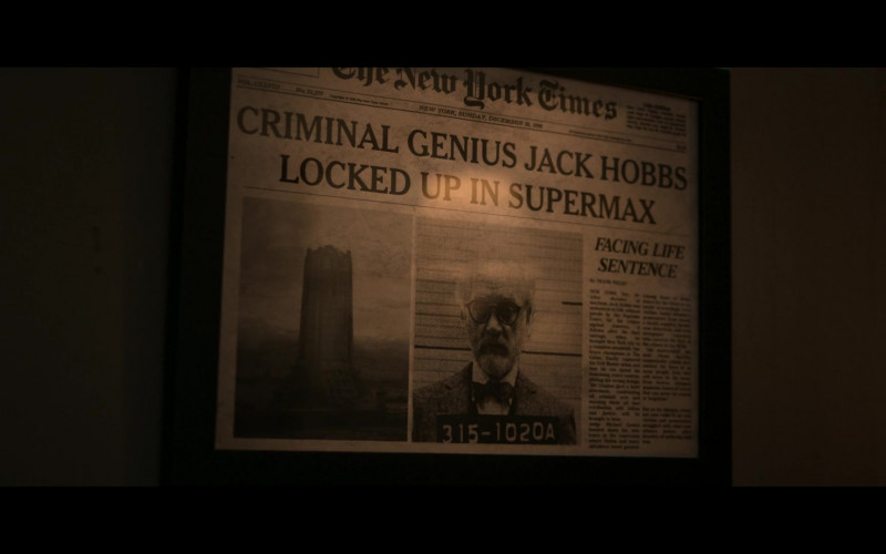 The New York Times Newspaper in Jupiter's Legacy S01E05 What's the Use (2021)