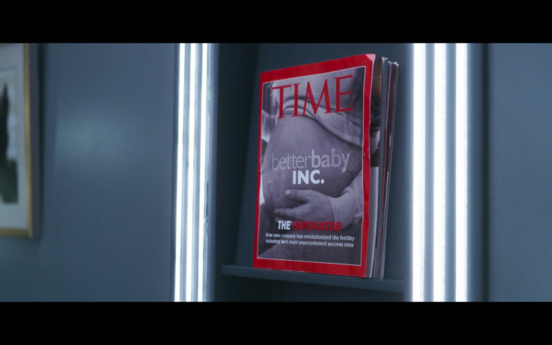 Time Magazine in Solos S01E05 JENNY (2021)