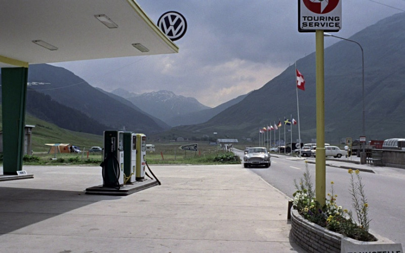 VW (Volkswagen) Sign in Goldfinger (1964)