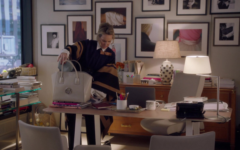 Valentino by Mario Valentino Bag of Melora Hardin as Jacqueline Carlyle in The Bold Type S05E01 Trust Fall (2021)