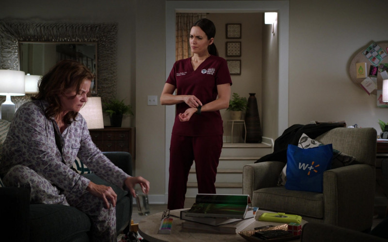 Walmart Plus Store Blue Bag in Chicago Med S06E13 What a Tangled Web We Weave (2021)