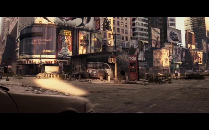AMD Billboard in I Am Legend (2007)