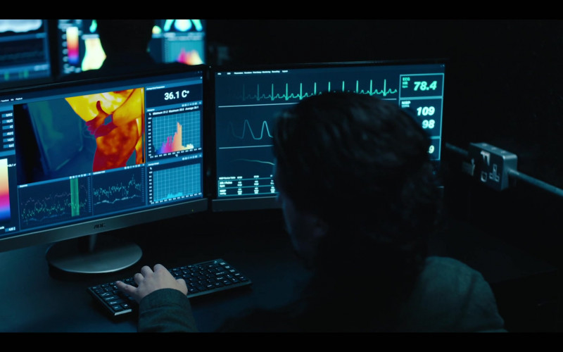 AOC Monitor in The Girlfriend Experience S03E09 State of Mind (2021)