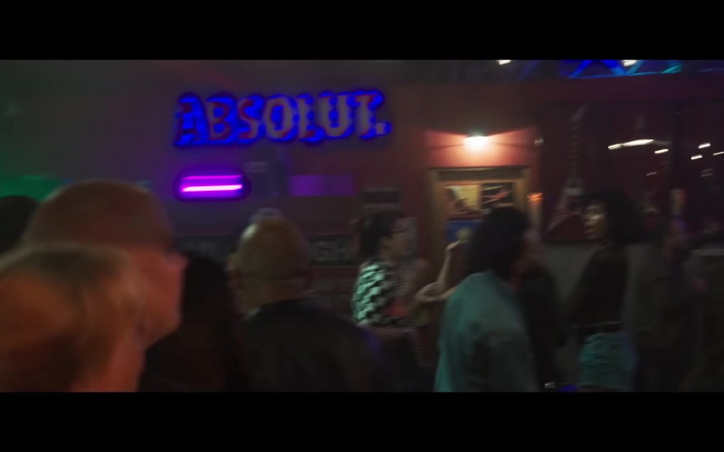 Absolut Vodka Sign in Midnight in the Switchgrass (2021)