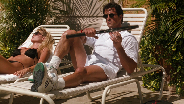 Adidas Men's HiTop Sneakers of Sylvester Stallone as Captain Ray Quick in The Specialist (1994)