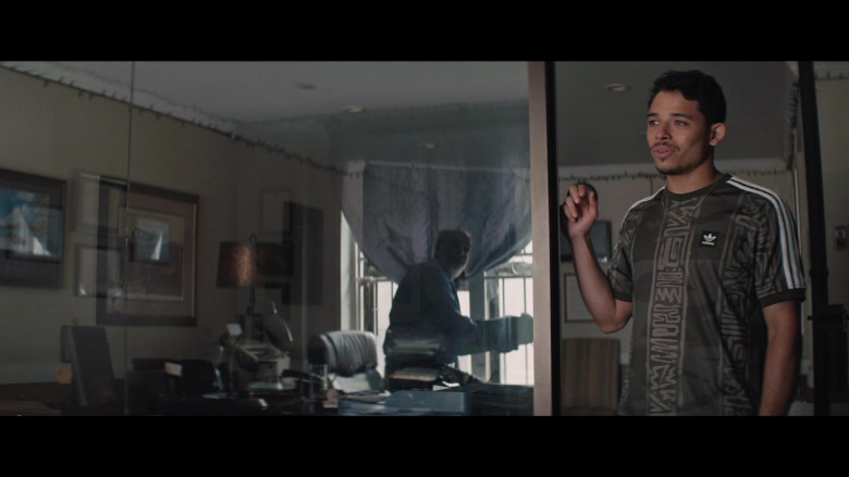 Adidas Men's T-Shirt of Anthony Ramos as Usnavi de la Vega in In the Heights (2021)