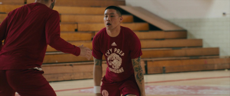 Adidas Men's Tee Worn by Taylor Takahashi as Alfred Chin in Boogie (1)