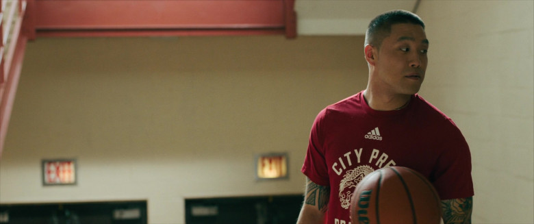 Adidas Men's Tee Worn by Taylor Takahashi as Alfred Chin in Boogie (2)