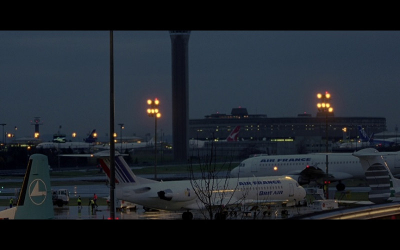 Air France Aircrafts in The Bourne Identity (2002)