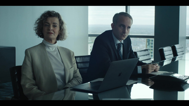 Apple MacBook Laptop in The Girlfriend Experience S03E07 Black Box (2021)