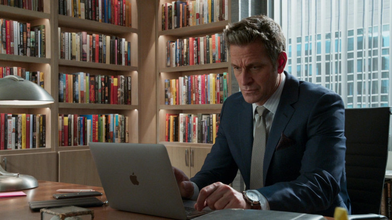 Apple MacBook Pro Laptop Used by Peter Hermann as Charles Brooks in Younger S07E12 Older (2021)