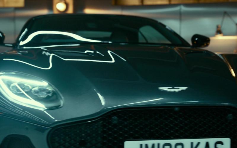 Aston Martin DBS Luxury Sports Car in Infinite (2021) Film