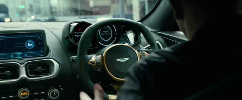 Aston Martin Vantage Sports Car in Infinite 2021 Movie (2)