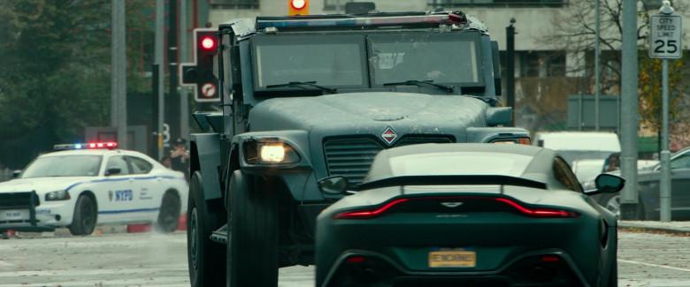 Aston Martin Vantage Sports Car in Infinite 2021 Movie (3)