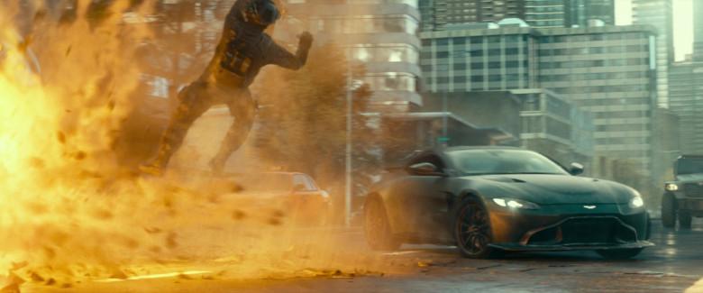 Aston Martin Vantage Sports Car in Infinite 2021 Movie (5)