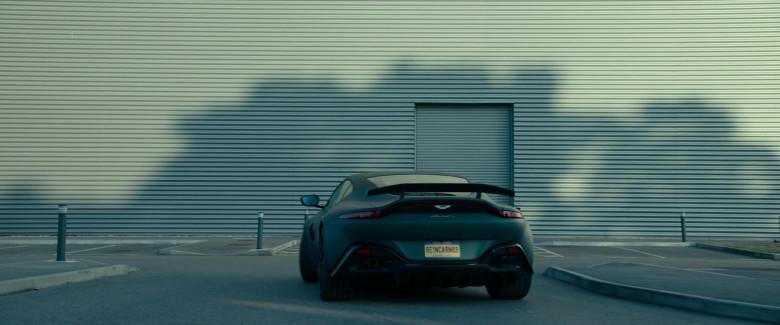 Aston Martin Vantage Sports Car in Infinite 2021 Movie (7)