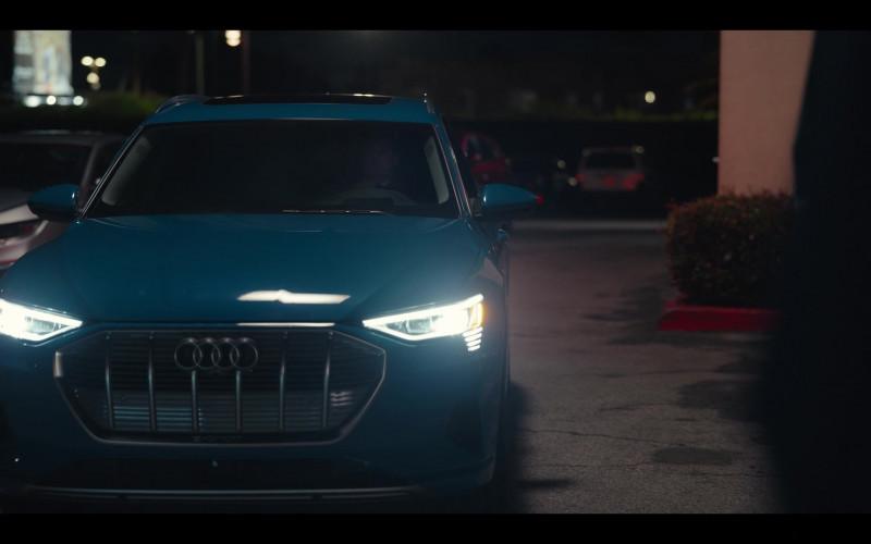 Audi E-Tron Blue Car in Hacks S01E08 1.69 Million (2021)