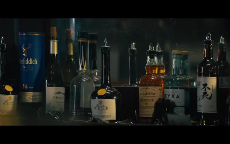 Balvenie Single Malt Whisky, Glenfiddich Bourbon Barrel Reserve 14 Year Old in Reminiscence (2021)