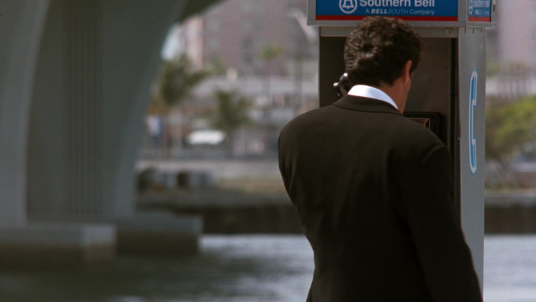 BellSouth Telecommunications Company Payphone Used by Sylvester Stallone as Captain Ray Quick in The Specialist (199
