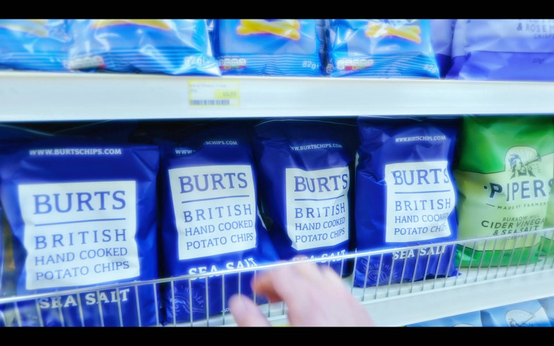 Burts Potato Chips in The Girlfriend Experience S03E09 State of Mind (2021)