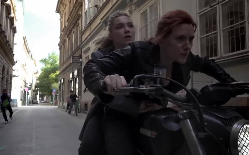 CCM Motorcycle in Black Widow (2021)