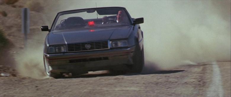 Cadillac Allanté Convertible Car of Sylvester Stallone as Lieutenant Raymond 'Ray' Tango in Tango & Cash 1989 Movie (1)