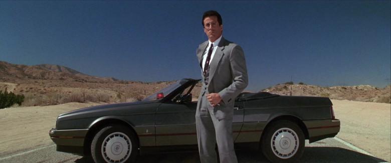 Cadillac Allanté Convertible Car of Sylvester Stallone as Lieutenant Raymond 'Ray' Tango in Tango & Cash 1989 Movie (2)