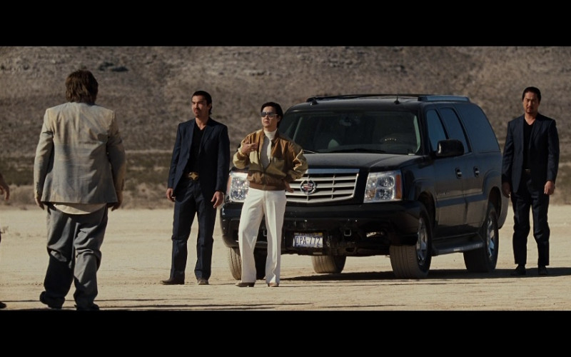 Cadillac Escalade ESV Car of Ken Jeong as Mr. Chow, a flamboyant Chinese gangster in The Hangover Movie (1)