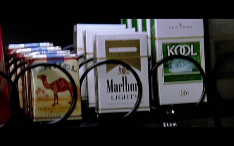Camel, Marlboro Lights & Kool in The Sum of All Fears (2002)