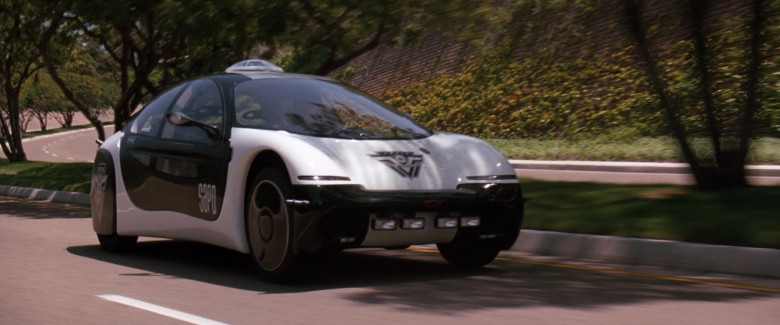 Chevrolet General Motors (GM) Ultralite Concept Car (San Angeles Police Department) in Demolition Man 1993 Movie (1)