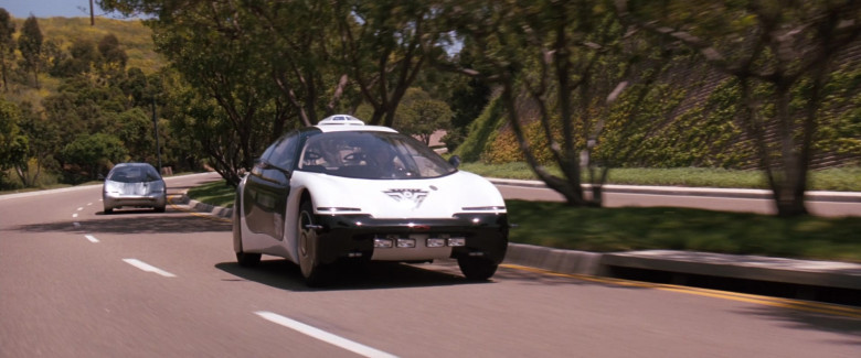 Chevrolet General Motors (GM) Ultralite Concept Car (San Angeles Police Department) in Demolition Man 1993 Movie (2)