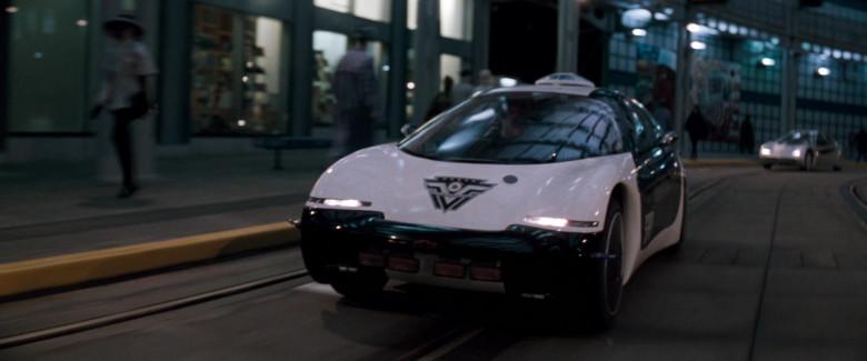 Chevrolet General Motors (GM) Ultralite Concept Car (San Angeles Police Department) in Demolition Man 1993 Movie (4)
