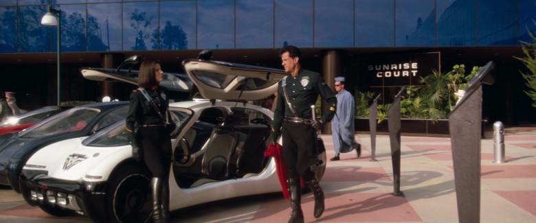 Chevrolet General Motors (GM) Ultralite Concept Car (San Angeles Police Department) in Demolition Man 1993 Movie (5)