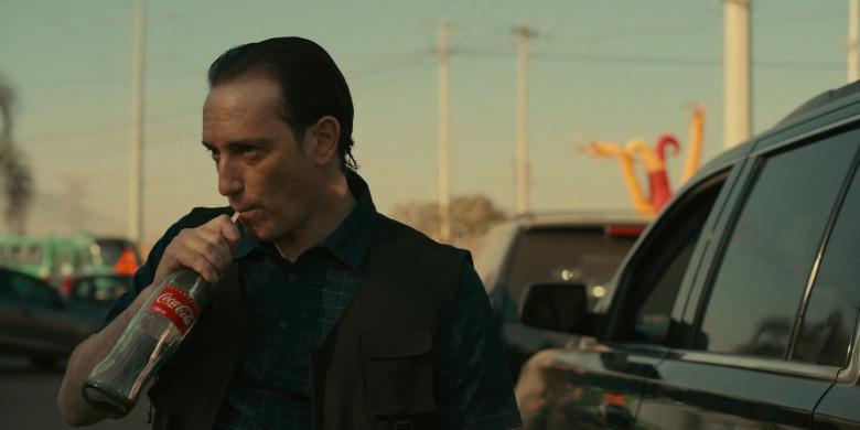 Coca-Cola Soda Bottle in The Mosquito Coast S01E07 The Glass Sandwich (2021)