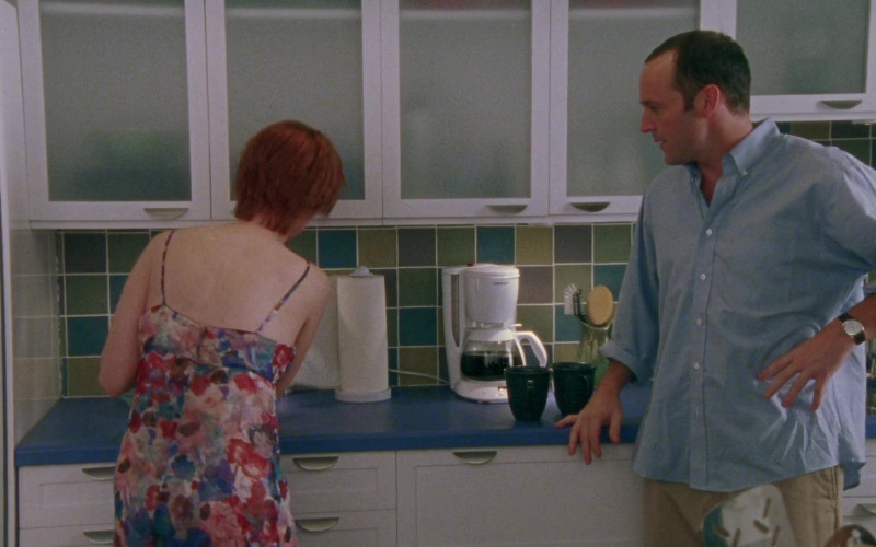 Cuisinart Coffee Machine in Sex and the City S03E12 Don't Ask, Don't Tell (2000)