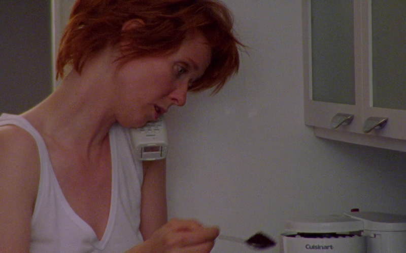 Cuisinart Coffee Maker Used by Cynthia Nixon as Miranda Hobbes in Sex and the City S03E16 Frenemies (2)