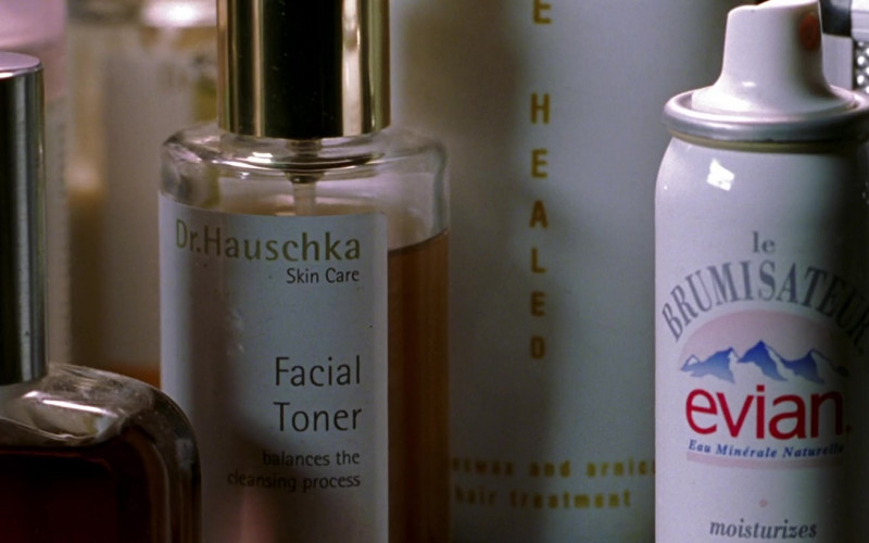 Dr. Hauschka Skin Care Facial Toner and Evian in Zoolander (2001)