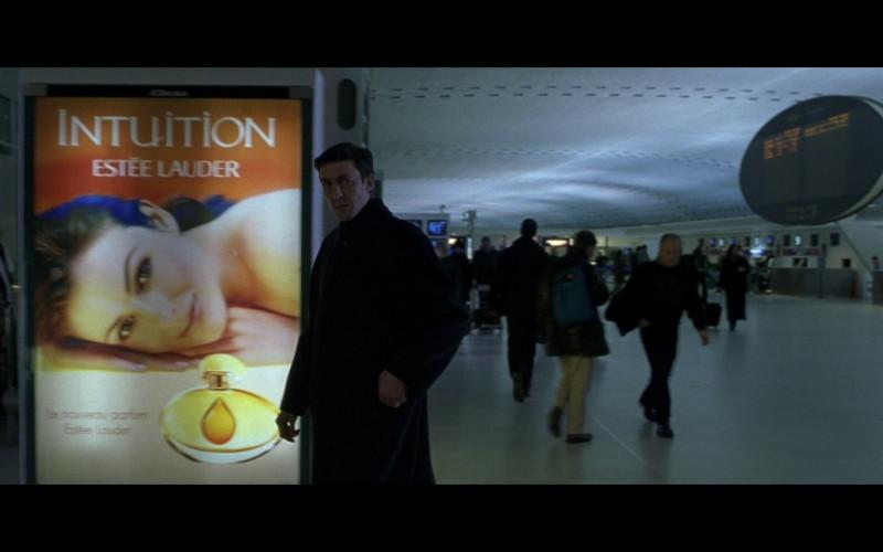 Estée Lauder ad in The Bourne Identity (2002)