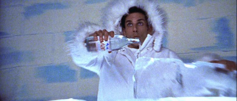 Evian Water Bottle Held by Ben Stiller in Zoolander (2001)
