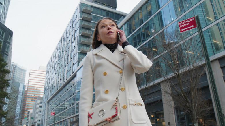 Fendi Handbag of Sutton Foster as Liza Miller in Younger S07E11 Make No Mustique (2021)