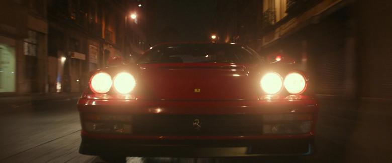 Ferrari Testarossa Red Sports Car in Infinite 2021 Movie (1)