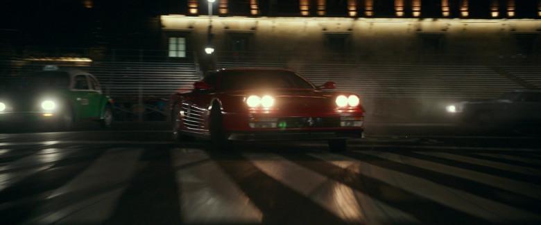 Ferrari Testarossa Red Sports Car in Infinite 2021 Movie (2)