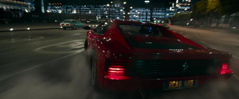 Ferrari Testarossa Red Sports Car in Infinite 2021 Movie (3)