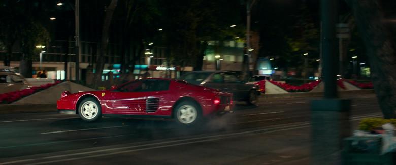 Ferrari Testarossa Red Sports Car in Infinite 2021 Movie (4)