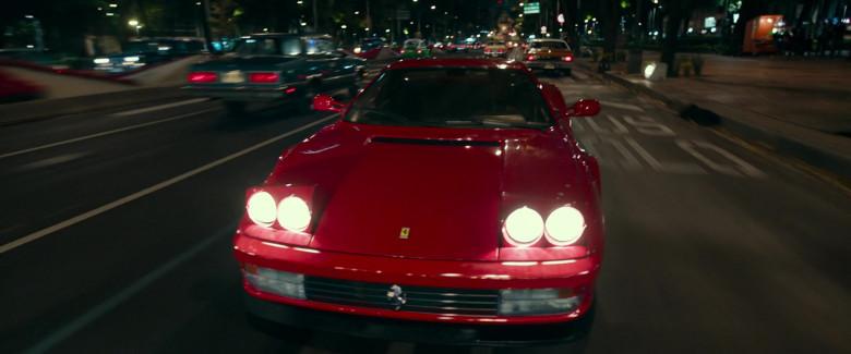 Ferrari Testarossa Red Sports Car in Infinite 2021 Movie (5)