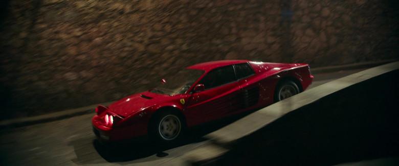 Ferrari Testarossa Red Sports Car in Infinite 2021 Movie (6)