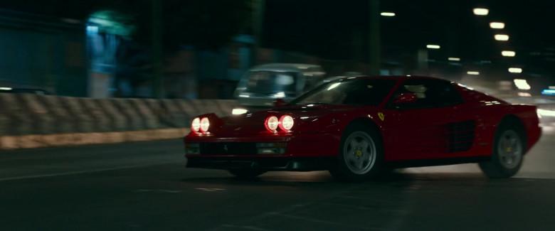 Ferrari Testarossa Red Sports Car in Infinite 2021 Movie (7)