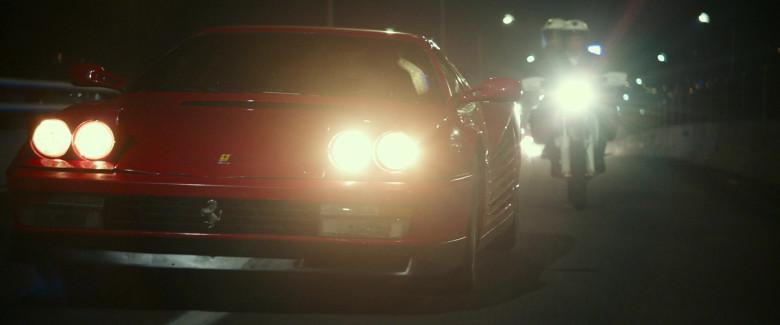 Ferrari Testarossa Red Sports Car in Infinite 2021 Movie (8)