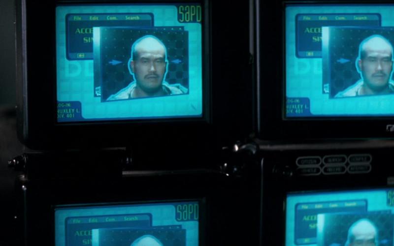GM Hughes Monitors in Demolition Man (1)
